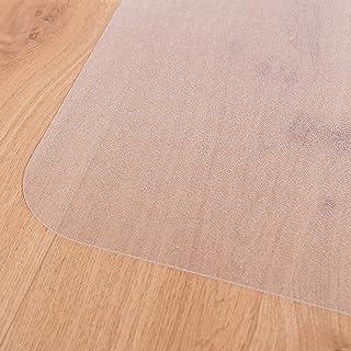 Certeo Tapis protège-Sol   LXL 92 x 122 cm   Pet   pour sols durs   Transparent   Tapis de Bureau Protection Sol Chaise à ...