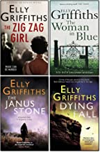 Elly Griffiths Collection 4 Books Set. (A Room full of Bones, the Janus stone...