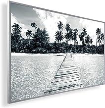 Könighaus Calefacción por infrarrojos a distancia – Calefacción con imagen en HD con TÜV/GS – 200 + imágenes – Con termost...