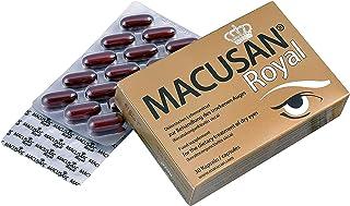 Macusan Royal | Cápsulas para Tratar los Ojos Secos con Luteína Zeaxantina. Ginkgo Biloba. Omega 3. Zinc. Vitamina C. Vitamina E. Selenio y Cobre