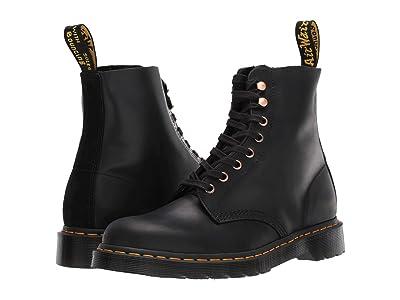 Dr. Martens 1460 Pascal Core (Black Soapstone/Hi Suede Waterproof) Boots