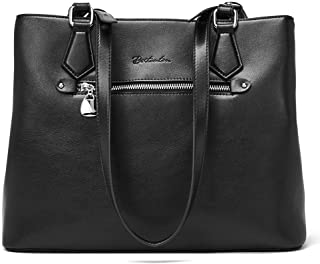 BOSTANTEN Women Handbag Genuine Leather Shoulder Bag Soft Designer Top Handle Purses