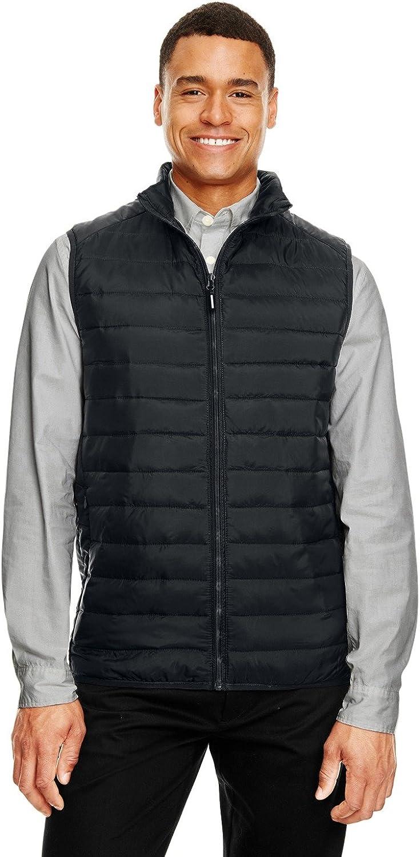 Core 365 Men's Prevail Packable Puffer Vest M BLACK