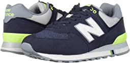 NB Navy/Bleached Lime