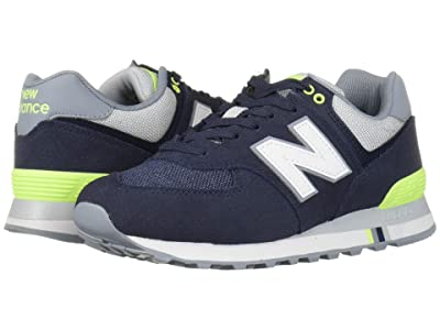 New Balance Classics 574 Summer Shore (NB Navy/Bleached Lime) Men
