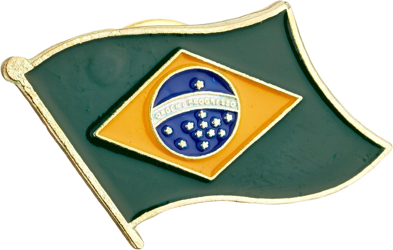 US Flag Store Brazil Lapel Pin