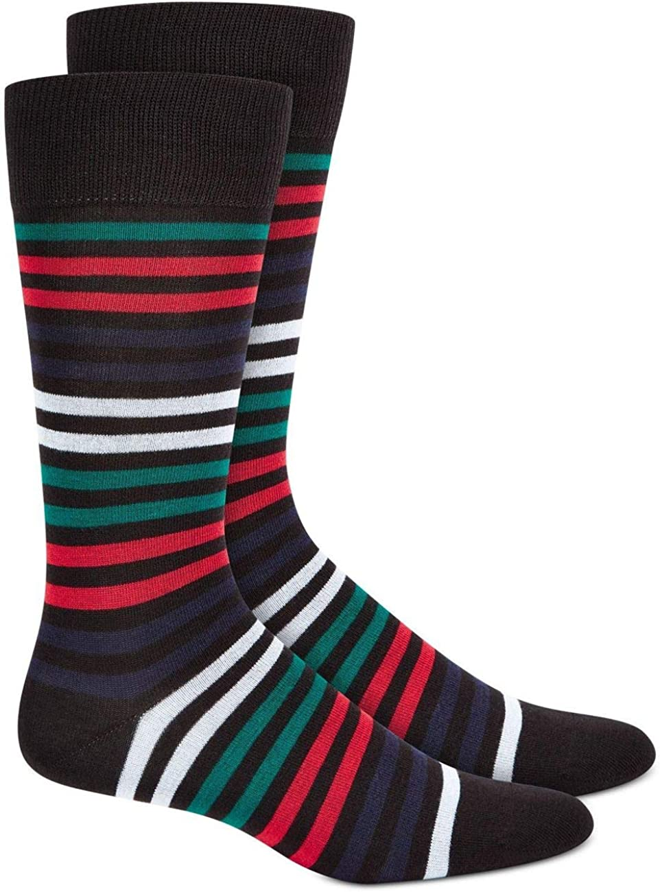 AlfaTech by Alfani Men's Striped Dress Socks