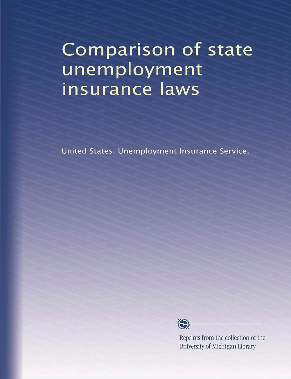 入手します必須骨Comparison of state unemployment insurance laws (Vol.7)