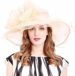Women's Church Kentucky Derby Cap British Tea Party Wedding Hat