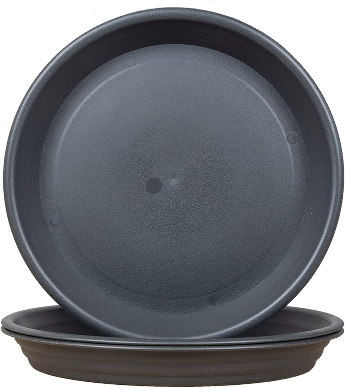 FREEGDN Plant Saucer 3Pcs depot 10inch Choice Pot Plastic Trays Saucers