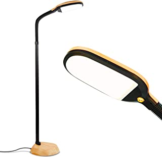 Brightech Litespan – Bright LED Floor Lamp for Crafts and Reading –..