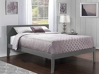 Atlantic Furniture AR8141009 Orlando Platform Bed, Queen, Atlantic Grey