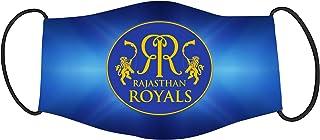 Vista IPL Team Rajasthan Royals Mask -Cotton Reusable Washable Mask Size 20x13 cms