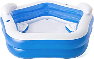 Bestway BW54153-20 HYDRO-SWIM Tauch-Set für Kinder Lil' Flapper, Größe: 24-27, sortiert Family Fun Lounge, Inflatable Pool for kids, Colour