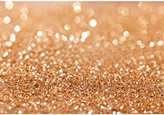 5x7ft Gold Glitter Sequin Backdrops Party Photography Background