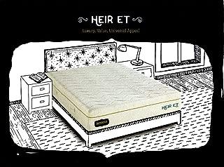 Bed Boss Heir ET Memory Foam Queen Mattress with 2 Free Pillows, Beige