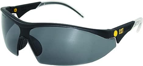 Caterpillar Digger Safety Glasses, Black, Smoke