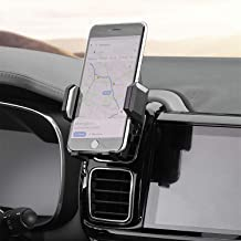 Amoner Air Vent Phone Holder, Car Phone Mount Holder Cradle Support 0.6 inch Thickness Device, Compatible with iPhone Xs Max XR X 8 8 Plus 7 7 Plus SE 6S Galaxy S10 S9 S8 S7 and Phones Under 6 inches