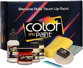 Color And Paint Compatible con/Peugeot 1007 / Orange SALAMANQUE Nacre Met - KHW/Touch-UP Sistema DE Pintura Coincidencia E...