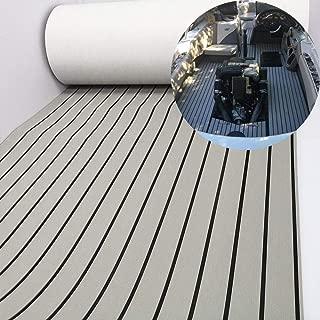 EVA Faux Teak Decking Sheet For Yacht/Boat Non-Slip Pads 94.5