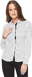 Diva London Sel Paris Fitted Shirt - XL, White