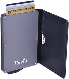 Radio Frequency ID RFID Blocking Credit Debit Card Holder Secure Wallet Purse