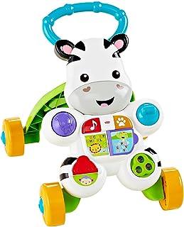 フィッシャープライス おして! しまうまくんのバイリンガル・ウォーカー 6カ月~36カ月 赤ちゃん 幼児 子ども 幼児 おもちゃ 手押し車 歩行器 知育玩具 知育 学習 英語 外国語 DNY98