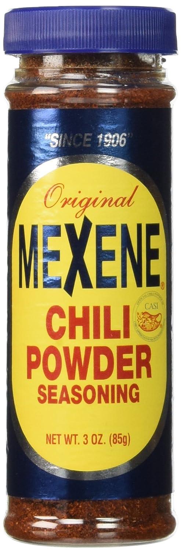 Mexene Popular product Original Chili Powder Seasoning 3 Pack Bottle 3oz of 67% OFF fixed price