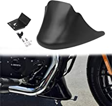 AQIMY Motorcycle Front Chin Spoiler Air Dam Fairing Cover with Mounting Bracket for Harley Sportster XL 883 1200