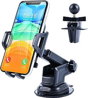 LILIYYA Universal Car Phone Mount,3 in 1 [Ultra-Durable]...