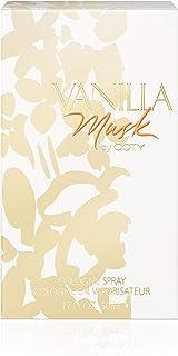 Coty Vanilla Musk Cologne Spray for Women, 1.7 Fl Oz