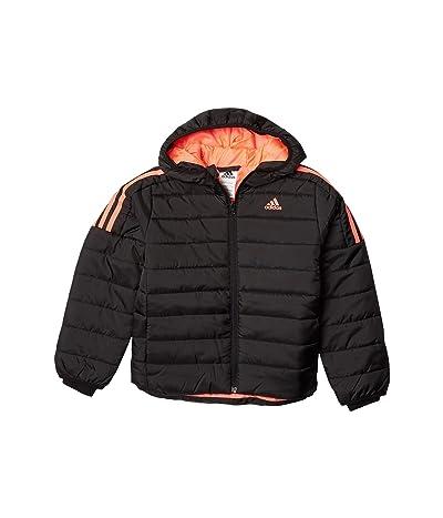 adidas Kids Puffer Jacket Classic (Big Kids) (Black) Girl