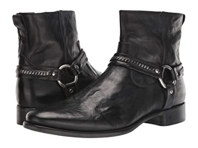 John Varvatos Collection Eldridge Harness Boot (Black 2) Men