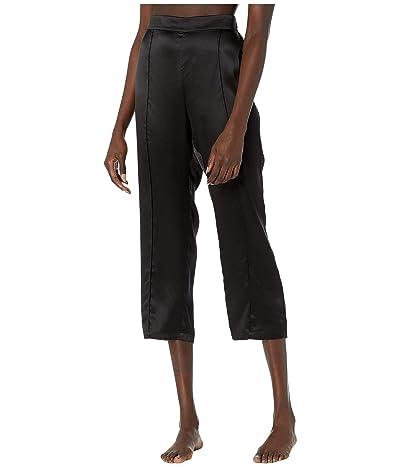 Thistle & Spire Silk Lounge Pants (Black) Women