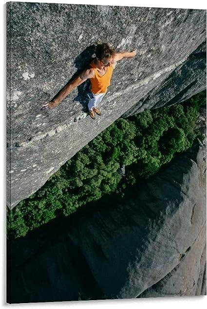 JTYK Póster deportivo de escalada en roca extrema, póster ...