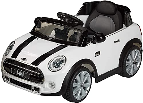 Rastar 82800 Ride-on Mini Cooper, Weiß