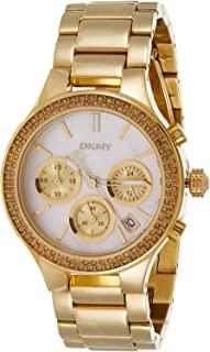 DKNY Quartz Movement For Women, Stainless Steel Band NY8058