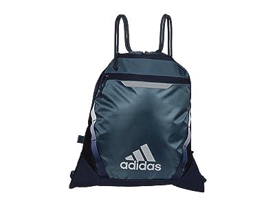 adidas Rumble III Sackpack (Legacy Blue/Legend Ink/Metal Grey/Silver Metallic) Bags