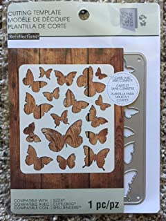 Recollections Cutting Die Template 542704 Butterfly (1 Cutting Dies)