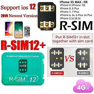 MeterMall RSIM 12+ Plus 2019 R-SIM Nano Unlock Card for iPhone X/8/7/6/6s 4G iOS 12.3