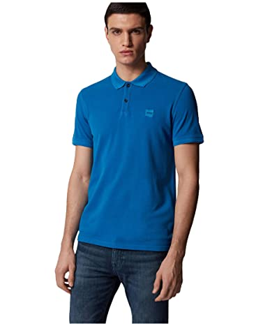 BOSS Hugo Boss Prime Polo (Bright Blue 1) Men
