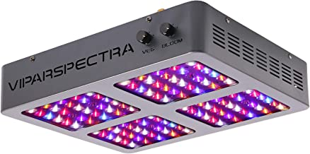 VIPARSPECTRA Dimmable 600W LED Grow Light, 12-Band Full Spectrum Grow Lamp for Indoor Plants Veg and Flower