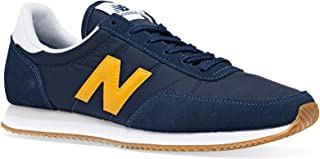 New Balance 720 Mens Navy/Yellow Trainers