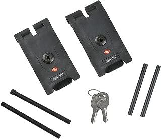 SKB TSA Locking Latch Kit (2-Piece), Large, Black