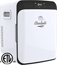 Cooluli Electric Mini Fridge Cooler and Warmer (15 Liter / 15 Can): AC/DC Portable Thermoelectric System (Digital)