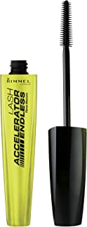 Rimmel Lash Accelerator Mascara Endless, Black, 0.33 Fluid Ounce (Packaging May Vary)