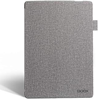 BOOX Etui z klapką do Note3 Note2, osłona ochronna na tył komputera automatyczne budzenie/sen skorupa szary