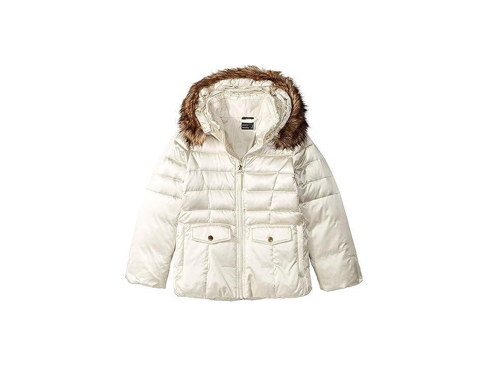 The North Face Kids Gotham 2.0 Down Jacket (Little Kids/Big Kids) (Vintage White) Girl