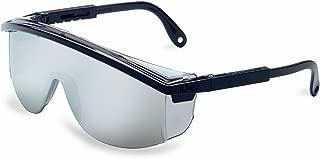 Uvex S137 Astrospec 3000 Safety Eyewear, Black Frame, Silver Mirror Ultra-Dura Hardcoat Lens