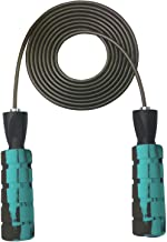 YZLSPORTS Professional Adjustable Steel Wire Jump Rope with Carrying Pouch by Fitness Factor Ergonomic,Durable,Easy to Adjust Premium Jump Rope All Heights and Skill Levels